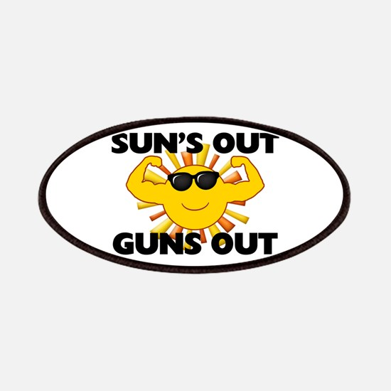 Sun's Out Guns Out Patches