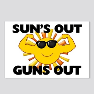 Sun's Out Guns Out Postcards (Package of 8)