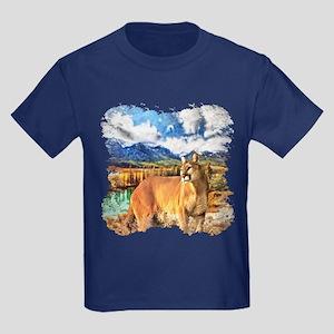 River Cougar Kids Dark T-Shirt
