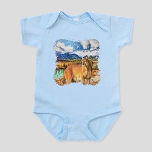 River Cougar Infant Bodysuit