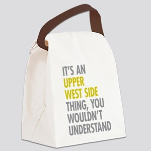 Upper West Side Thing Canvas Lunch Bag