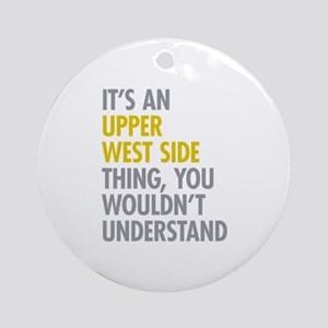 Upper West Side Thing Ornament (Round)