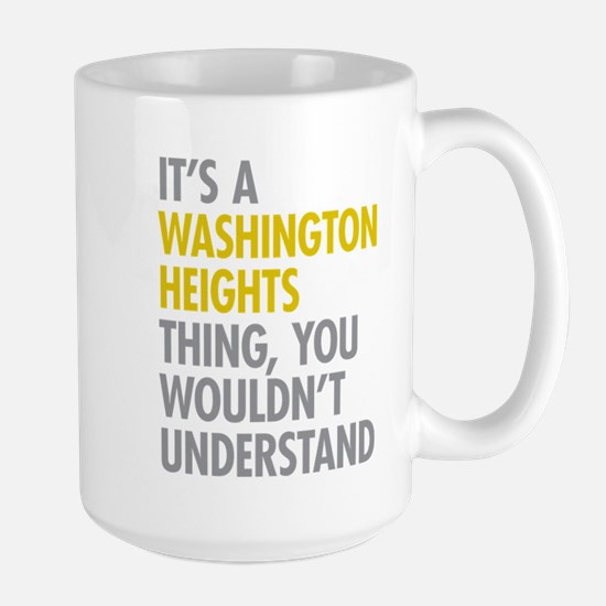Washington Heights Thing Large Mug