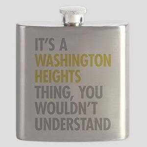 Washington Heights Thing Flask