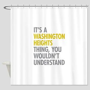 Washington Heights Thing Shower Curtain