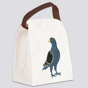 Fashionista Pigeon copy Canvas Lunch Bag
