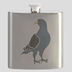 Fashionista Pigeon copy Flask
