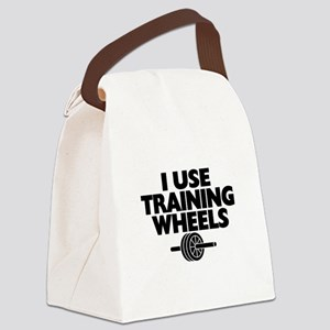 I Use Training Wheels Canvas Lunch Bag