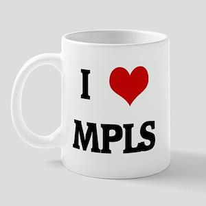 I Love MPLS Mug