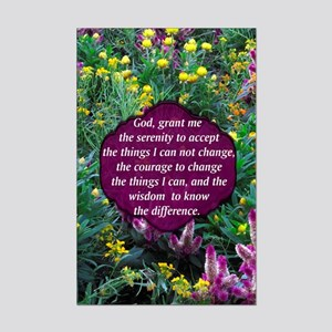 SERENITY PRAYER Mini Poster Print