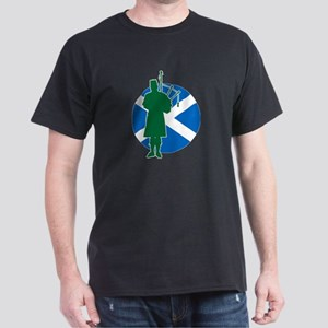 Scottish Piper Dark T-Shirt