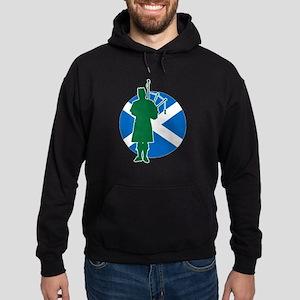 Scottish Piper Hoodie (dark)