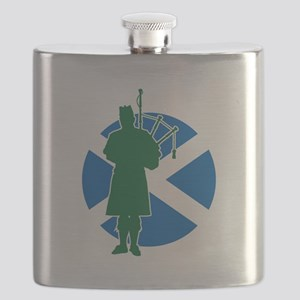 Scottish Piper Flask
