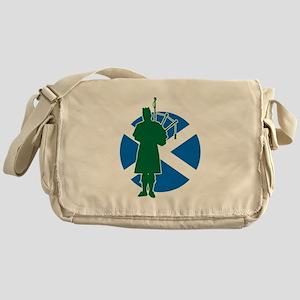 Scottish Piper Messenger Bag