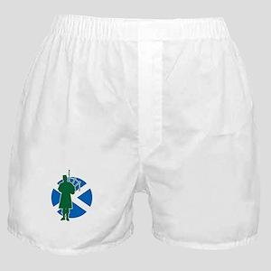 Scottish Piper Boxer Shorts