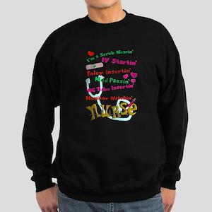 nurse humor 4 Sweatshirt