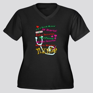 nurse humor 4 Plus Size T-Shirt