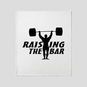Raising The Bar Throw Blanket