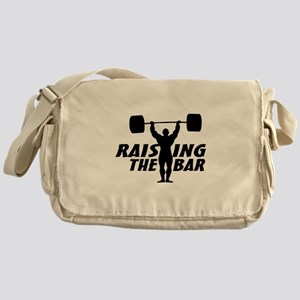 Raising The Bar Messenger Bag