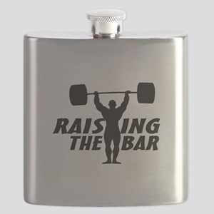 Raising The Bar Flask