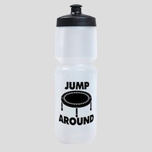 Jump Around Trampoline Sports Bottle