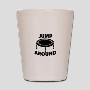 Jump Around Trampoline Shot Glass