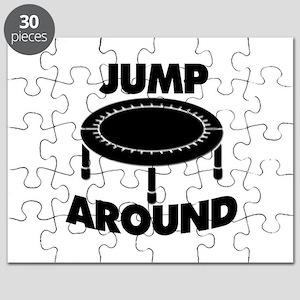 Jump Around Trampoline Puzzle