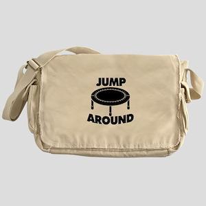 Jump Around Trampoline Messenger Bag