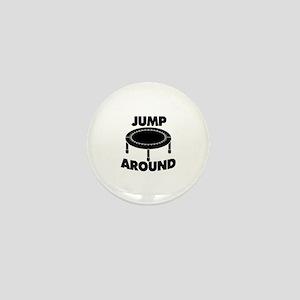 Jump Around Trampoline Mini Button
