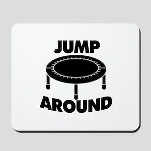 Jump Around Trampoline Mousepad