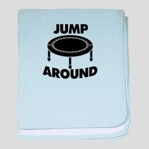 Jump Around Trampoline baby blanket