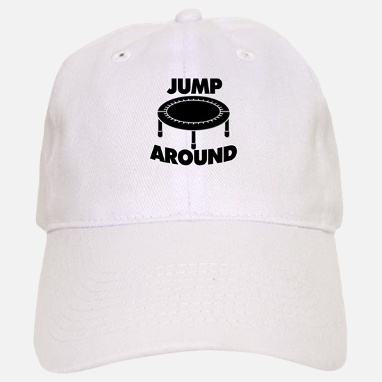 Jump Around Trampoline Baseball Baseball Cap