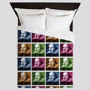 Renaissance Shakespeare Queen Duvet