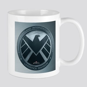 MAOS Brush Metal Shield Mug