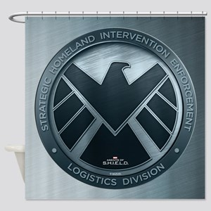MAOS Brush Metal Shield Shower Curtain