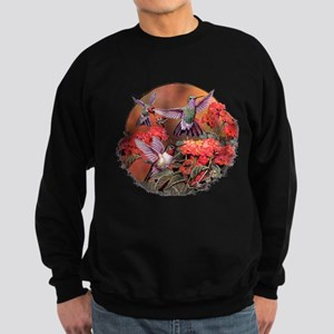 3 Hummingbirds Sweatshirt (dark)