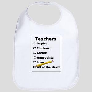 Gifts for Teachers Bib