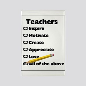 Gifts for Teachers Rectangle Magnet