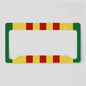Vietnam Service Ribbon License Plate Holder