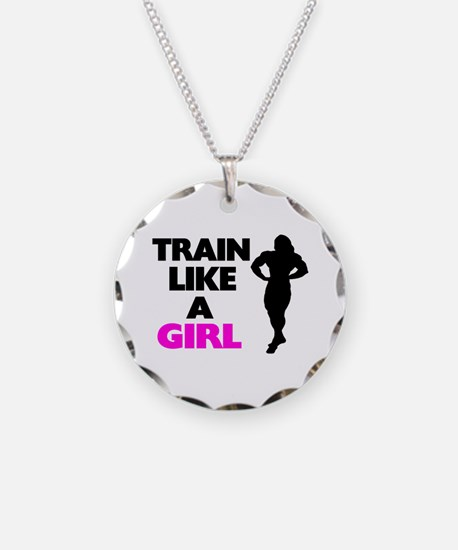 Train Like A Girl Necklace