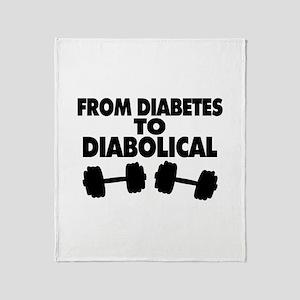 From Diabetes To Diabolical Throw Blanket
