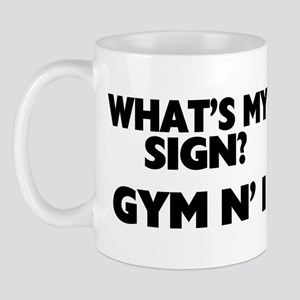 What's My Sign Gym N' I Mug