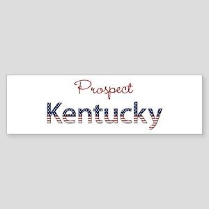 Custom Kentucky Sticker (Bumper)