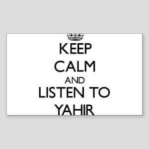 Keep Calm and Listen to Yahir Sticker