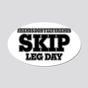 Friends Don't Let Friends Sk 20x12 Oval Wall Decal