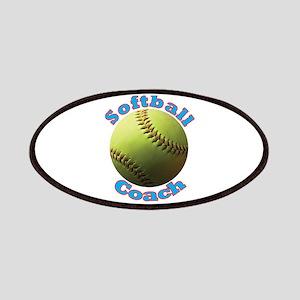 Softball Coach Patches