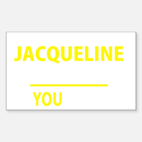 Cute Jacqueline Sticker (Rectangle)