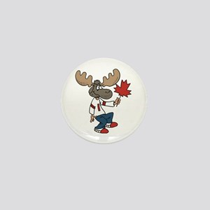 Canada Moose Mini Button