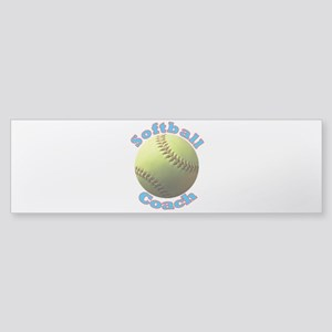Softball Coach Bumper Sticker