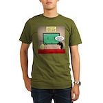 US and Soccer Organic Men's T-Shirt (dark)